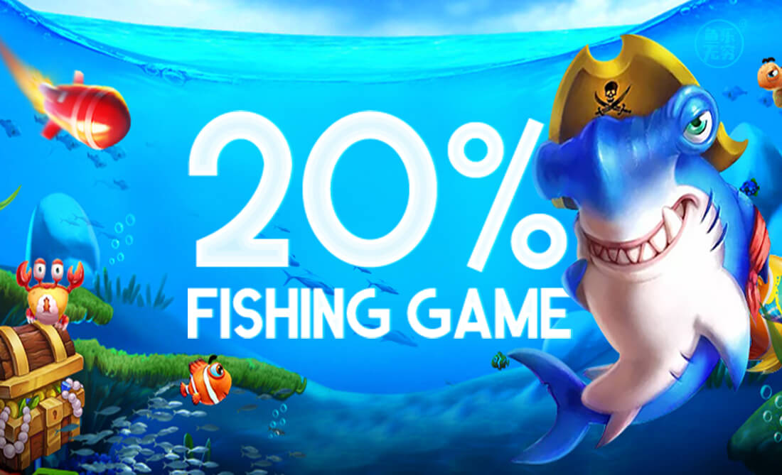 fishing game promo 20% - FunFish33