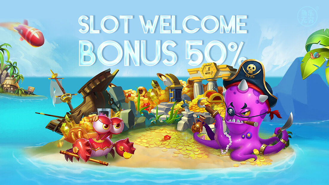 fishing game promo slot welcome bonus